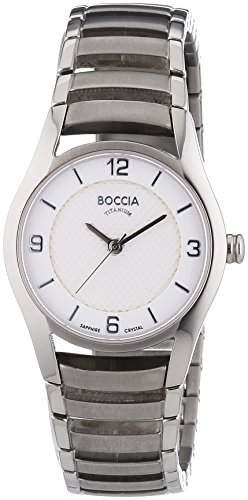 Boccia Damen-Armbanduhr XS Analog Quarz Titan 3229-01