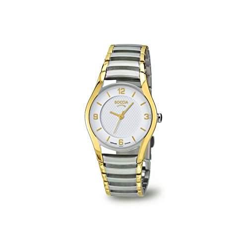Boccia Damen-Armbanduhr XS Analog Quarz Titan 3229-02