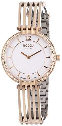 Boccia Damen-Armbanduhr XS Analog Quarz Titan 3230-03