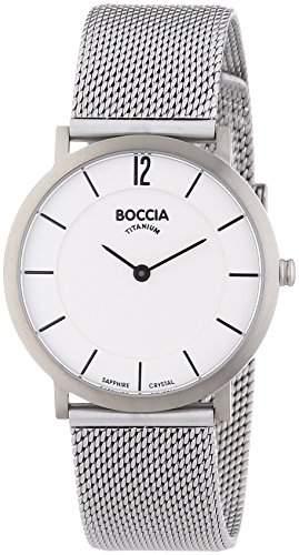 Boccia Damen-Armbanduhr XS Analog Quarz Titan 3231-02