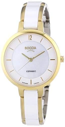 Boccia Damen-Armbanduhr XS Analog Quarz Keramik 3236-02