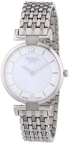 Boccia Damen-Armbanduhr Titan XS Analog Quarz 3238-03