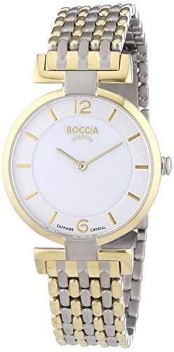Boccia Damen-Armbanduhr XS Analog Quarz Leder 3238-04