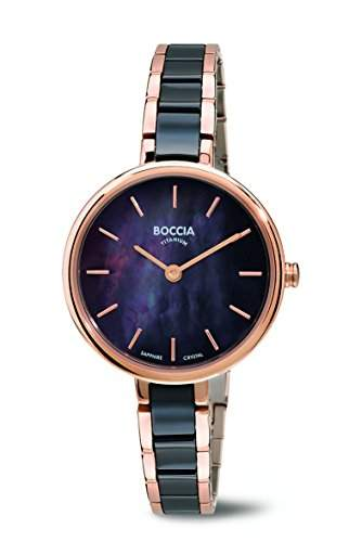 Boccia Damen-Armbanduhr Analog Quarz verschiedene Materialien 3245-03