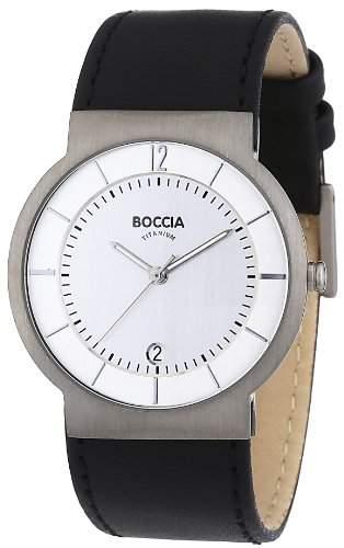 Boccia Herren-Armbanduhr Mit Lederarmband Trend 3514-01