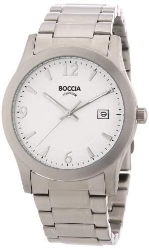 Boccia Herren-Armbanduhr Titan 3550-01
