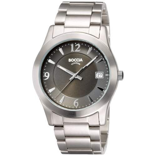 Boccia Herren-Armbanduhr Titan 3550-02