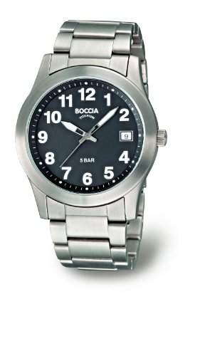 Boccia Herren-Armbanduhr Titan 3550-04