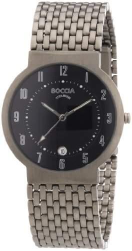 Boccia Herren-Armbanduhr Titan 3554-02