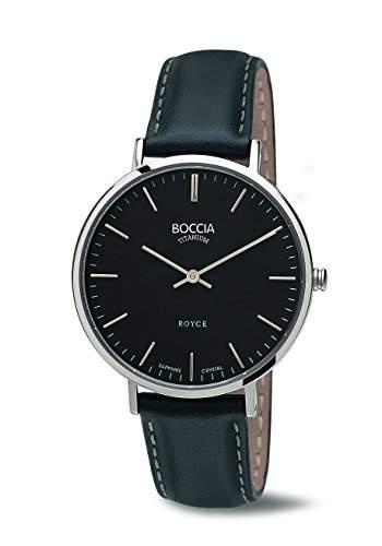 Boccia Damen-Armbanduhr Analog Quarz Leder 3590-02
