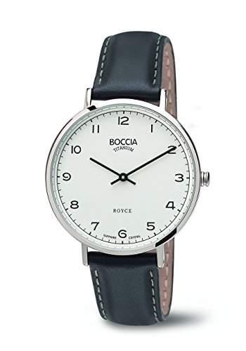 Boccia Damen-Armbanduhr Analog Quarz Leder 3590-04