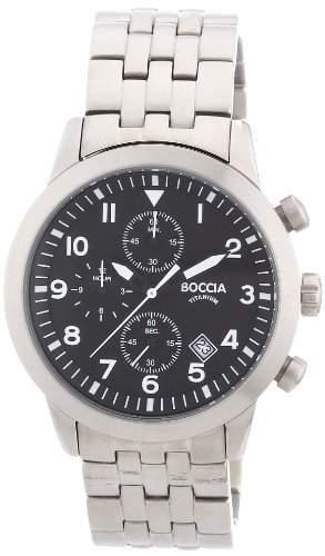 Boccia Herren-Armbanduhr Titan 3772-02