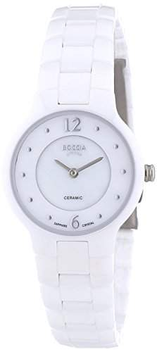 Boccia Damen-Armbanduhr XS Analog Quarz Keramik 3200-03