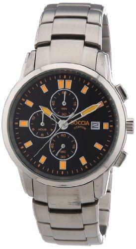 Boccdia XL Chronograph Quarz Titan 3763 03