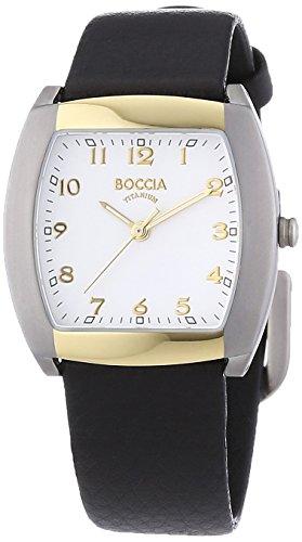 Boccia Analog Quarz Leder 3113 09