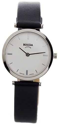 Boccia Analog Quarz Leder 3253 01