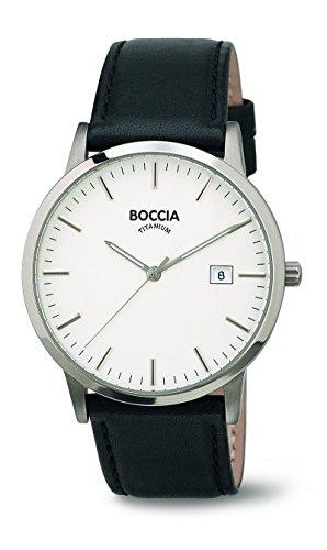 Boccia Analog Quarz Leder 3588 01