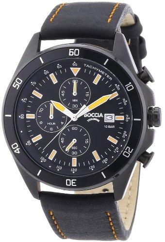Boccia XL Chronograph Quarz Leder 3762 05