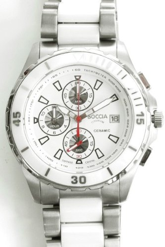 Boccia Titanium Uhr Chrono 3766 03