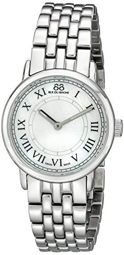 88 Rue Du Rhone Ladies Silver Stainless Steel Watch 87WA120007