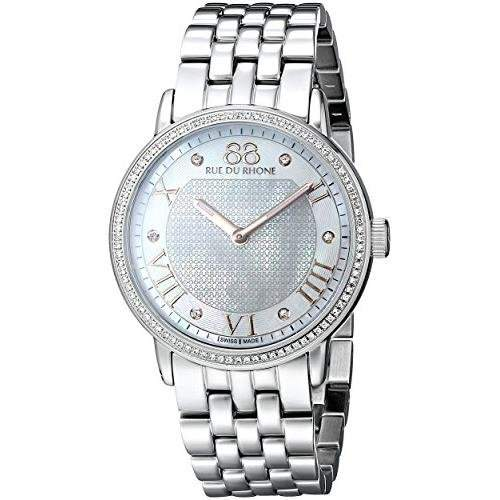 88 Rue Du Rhone Ladies Diamond Set Watch - 87WA130031