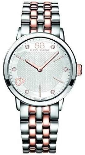 88 Rue Du Rhone Double 8 Origin Ladies Diamond Set Watch 87WA140005