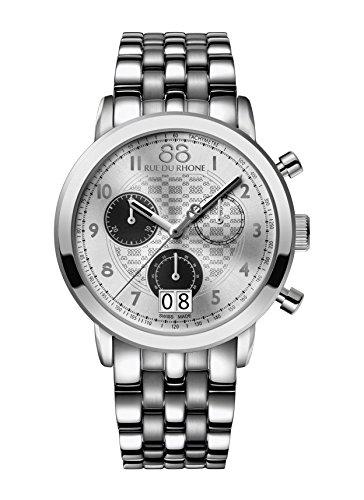 88 Rue Du Rhone Double 8 Origin Mens Chronograph Date Watch 87WA140032