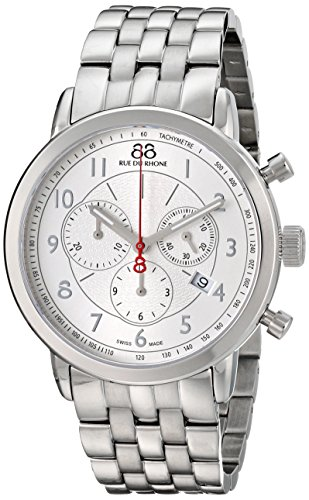 88 Rue Du Rhone Double 8 Origin Mens Silver Stainless Steel Watch 87WA120044
