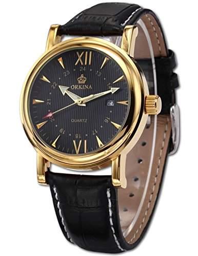 AMPM24 Elegant Armbanduhr Herrenuhr Quarzuhr Uhr ORK047