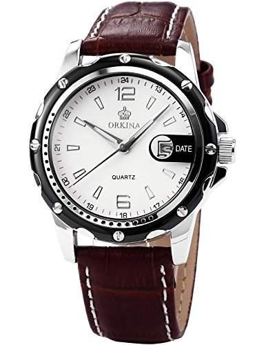 AMPM24 Elegant Armbanduhr Herrenuhr Quarzuhr Uhr ORK052