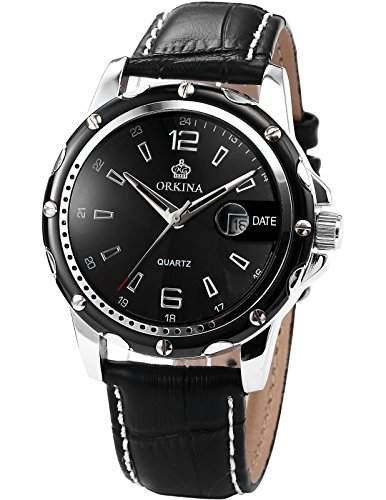 ORKINA Elegant Armbanduhr Herrenuhr Quarzuhr Uhr ORK053