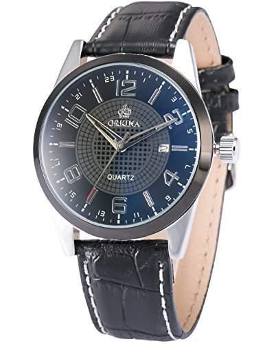 ORKINA Elegant Armbanduhr Herrenuhr Quarzuhr Uhr ORK054