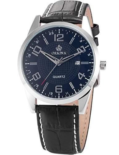ORKINA Elegant Armbanduhr Herrenuhr Quarzuhr Uhr ORK057