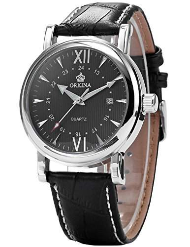 AMPM24 Elegant Armbanduhr Herrenuhr Quarzuhr Uhr ORK106