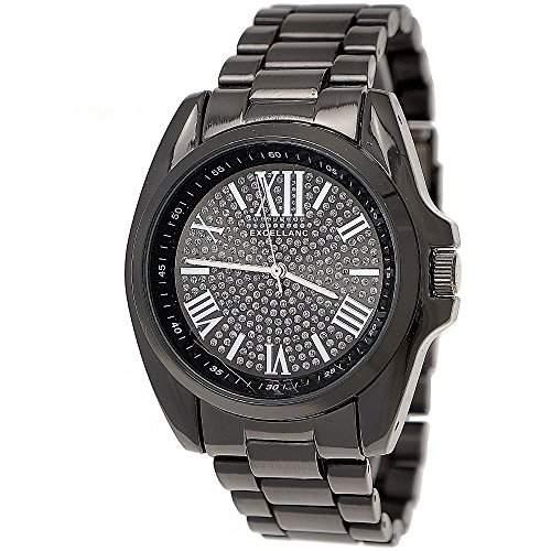 Designer Damenuhr,Moderne Damen Armband Uhr,SchwarzAnthrazit D251