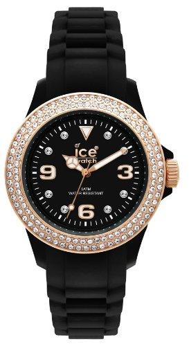 Ice Watch Armbanduhr Stone Sili Unisex Schwarz ST BK U S 09