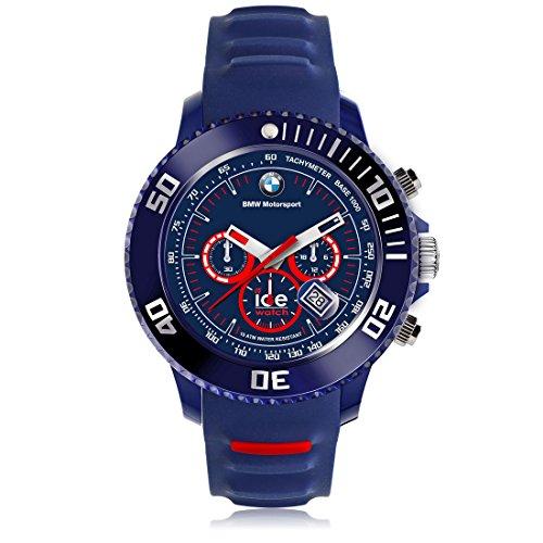 Ice Watch BMW Motorsport sili Blue Red Blaue mit Silikonarmband Chrono 001132 Large