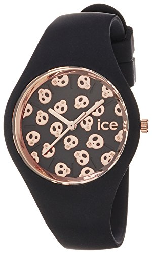 Ice Watch Ice Skull Analog Quarz Silikon ICE SK BK S S 15