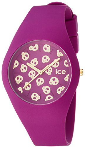 Ice Watch Ice Skull Analog Quarz Silikon ICE SK DAM U S 15