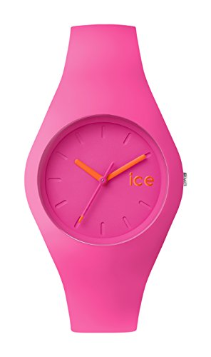Ice Watch ICE chamallow Neon pink Rosa mit Silikonarmband 001150 Medium