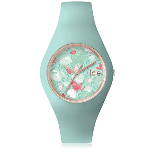 Ice Watch ICE flower Eden Gruene mit Silikonarmband 001304 Medium