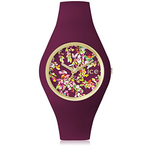 Ice Watch ICE flower Wonderland Lila mit Silikonarmband 001309 Medium