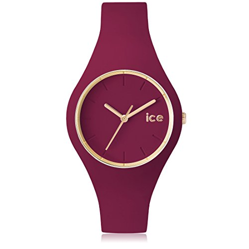 Ice Watch ICE glam forest Anemone Rote mit Silikonarmband 001056 Small