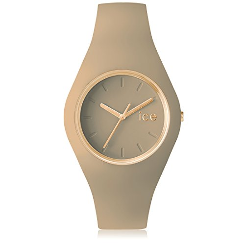 Ice Watch ICE glam forest Carribou Beige mit Silikonarmband 001061 Medium