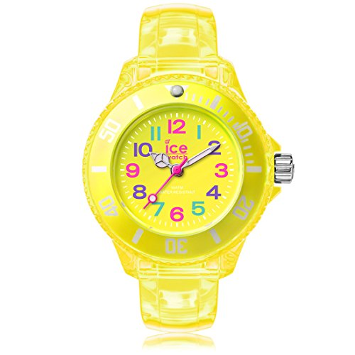 Ice Watch ICE happy Neon yellow Gelbe mit Plastikarmband 001322 Extra Small
