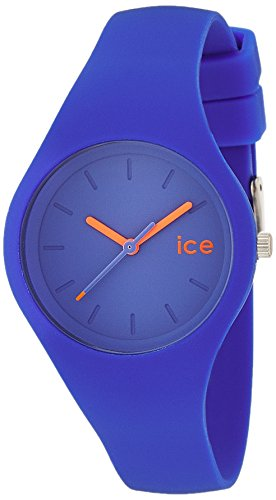 Ice Watch ICE ola Dazzling blue Blaue mit Silikonarmband 000993 Small