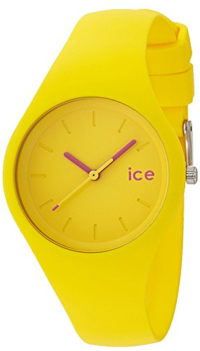 Ice Watch ICE ola Neon yellow Gelbe mit Silikonarmband 000996 Small