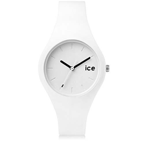 Ice Watch ICE ola White Black Weisse mit Silikonarmband 000992 Small