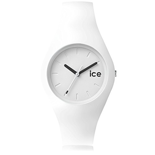 Ice Watch ICE ola White Weisse mit Silikonarmband 001227 Medium