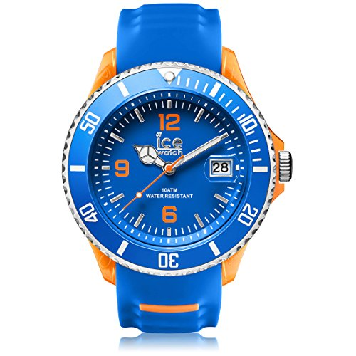 Ice Watch ICE sporty Blue Orange Blaue mit Silikonarmband 001331 Extra Large